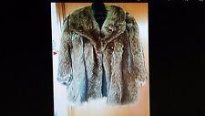 cappotto in pelliccia di marmotta