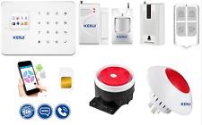 Kit Security Alarm System KERUI G18 WIFI GSM Security  SMS Control Detectors