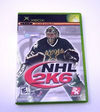 Xbox NHL 2k6 Hockey Game with box and manual