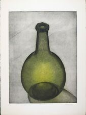 Thomas O'Donoghue, Vintage Print Aquatint Etching, 'Green Bottle', Edition 99