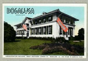 Great Southern Lumber Co. Bogalusa Administration Building Louisiana LA Postcard
