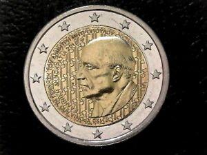 Münze Griechenland 2 Euro, Gedenkmünze 2016 UNC, Dimitris Mitropoulos