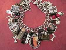 Marie Laveau 1800s Voodoo Queen of New Orleans Altered Art Steampunk Charm Brace