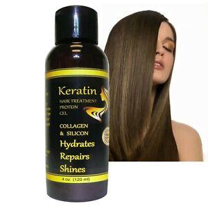 KERATIN Hair Straightening Repair Hydrolyzed Collagen Formaldehyde Free ALKAVITA