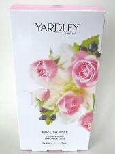Yardley London English Rose 3 x 100 g