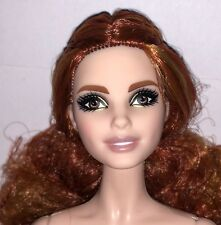 Barbie Global Glamour Sorcha NUDE Articulated Model Muse Doll Neysa Auburn NEW