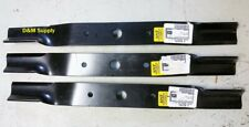 Set Of 3 72 Finish Lawnmower Blades Land Pride To Fit 890 172c Fdr1672 Fdr2572