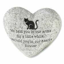 Cat Grave Marker Headstone Pet Memorial Heart Stone Garden Memory Monument Gift