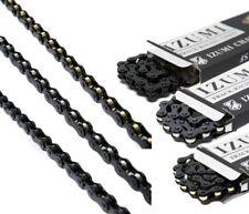 "IZUMI MASH JET BLACK 1/2"" x 1/8"" Bike Wide Chain, Single Speed Track BMX"