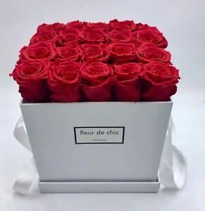 ❤️ Exklusive Rosenboxen🌹 mit Infinity Rosen als haltbares Geschenk, Blumen Box