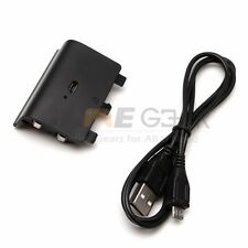 Rechargeable Battery Pack 1200mAh USB Charger Cable for XBox One Controller