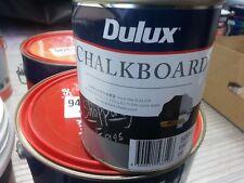 DULUX 500ML  CHALKBOARD WATER/BASE   BLACK  COLOUR PAINT