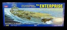 Kitech 1/800 USS Enterprise Nuclear Aircraft Carrier CVN-65 Model Kit #08M-057