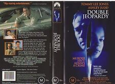 Vhs *Double Jeopardy* 1999 Paramount Pictures - Adult Mystery Crime Thriller