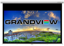 "Grandview Cyber Series 92"" inch Manual Pull Down 16:9 Projector Screen"