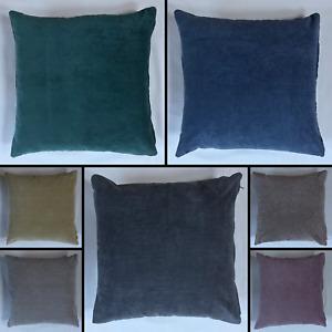 Handmade Fernando Suede Like Cushion Removeable Insert Sofa Bed Decor Zipper