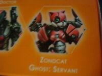 Infinity Tomcats Zondcat Ghost Servant Nomads metal new