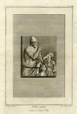Antique Print-SCULPTURE-CLASSICAL-VULCANUS-OSTIA-Rocheggiani-Mochetti-ca. 1780
