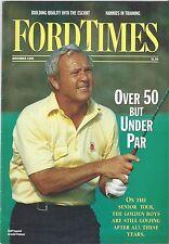 Ford Times Nov/90 Wild Turkey Hunting Arnold Palmer Golf Star  Nov. 1990 News