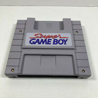Super Gameboy SNES SUPER NINTENDO Game Boy - Authentic! Tested working (No Game)