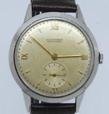 VINTAGE c.1940's Ulysse Nardin Calatrava Mens 36mm Steel Manual Watch ORIGINAL