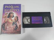 EL PRINCIPE DE EGIPTO VHS CINTA TAPE COLECCIONISTA ESPAÑA