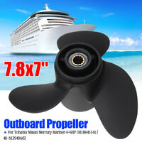 7.8X7'' Marine Boat Outboard Propeller for Tohatsu Nissan Mercury Mariner