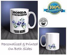 Honda ST1100 Pan European Motorbike Personalised Ceramic Mug Gift (MB035)