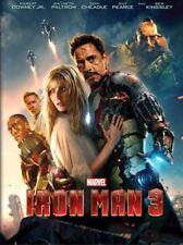 Iron Man 3 (DVD DISC ONLY, NO ARTWORK 2013) Marvel - Robert Downey Jr.