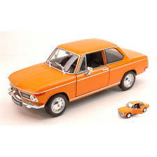 BMW 2002 Ti 1972 ORANGE 1:24 Welly Auto Stradali Die Cast Modellino