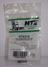 NTE NTE518   REPLACES ECG518 HIGH VOLTAGE  SILICON RECTIFIER FOR TELIVISION APP