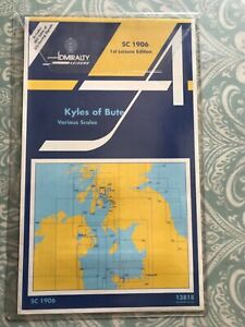 Admiralty CHARTS UNUSED Sailing Kyles of Bute SC1906