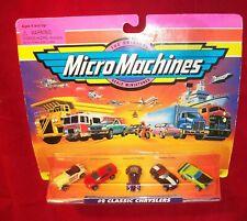 #2 CLASSIC CHRYSLERS  Micro Machines Set  '71 Challanger, Dodge Viper ++