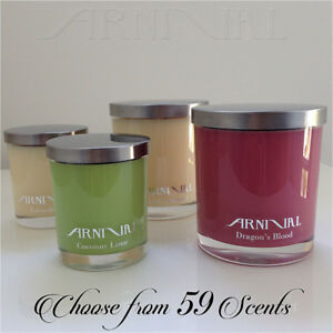 HIGHLY SCENTED 100% NATURAL SOY WAX CANDLE 35 63 hour burn time CHOOSE FRAGRANCE