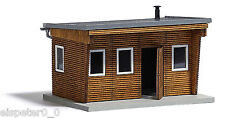 Busch 1394, Bungalow bois, H0 Modèle Bâtiments Kit De Construction 1:87