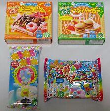 4 pcs Kracie Happy kitchen Popin cookin Japanese candy DIY Making Kit 14
