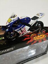 Mini Champs 1/12 Yamaha Yzr-M1 Fiat V. Rossi 2008 Motogp W. Champion