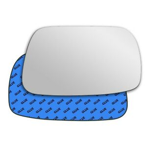 Right wing adhesive mirror glass for Lexus IS XE10 1998-2005 542RS