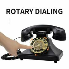 Vintage old fashioned Rotaring Dial office For Telephone Phone Decoration Decor