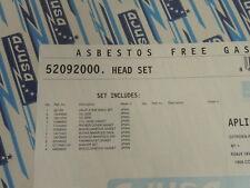 Ajusa 52092000 Head Gasket Set For 1989-91 Peugeot 405 Mi16 16V 1.9L XU9J4 4 Cyl