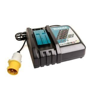 MAKITA 18V LXT DC18RC SITE CHARGER 110V FOR USE WITH DJR187
