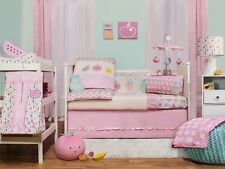Little Cloud Berry Sweet Cot Set 4pc - Pink