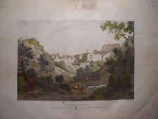 España. Cataluña. Tarragona. «Vista general de Tortosa» Alexander Laborde (1810-
