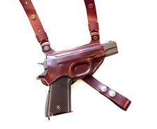 Shoulder gun holster Sig Sauer P238/P938, Makarov 100% genuine leather m.1008