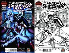 AMAZING SPIDERMAN RENEW YOUR VOWS 2 J SCOTT CAMPBELL SDCC COLOR SKETCH VARIANT