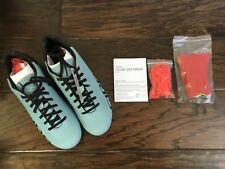 Giro Empire ACC Frost Blue Road Cycling Shoes Reflective Size 42 Lace Up