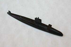 HMS Conqueror RN Nuclear Submarine.Waterline metal model1250