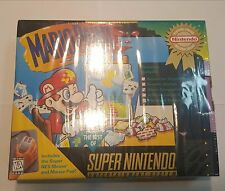 mario paint snes Brand New in Box Factory Sealed