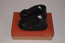 Boys Kids Kickers Kick Kilo Core Black Leather Shoe Boots Infant Size 5 UK 22EUR