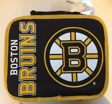 NHL Boston Bruins Soft Insulated Lunch Box New NWT